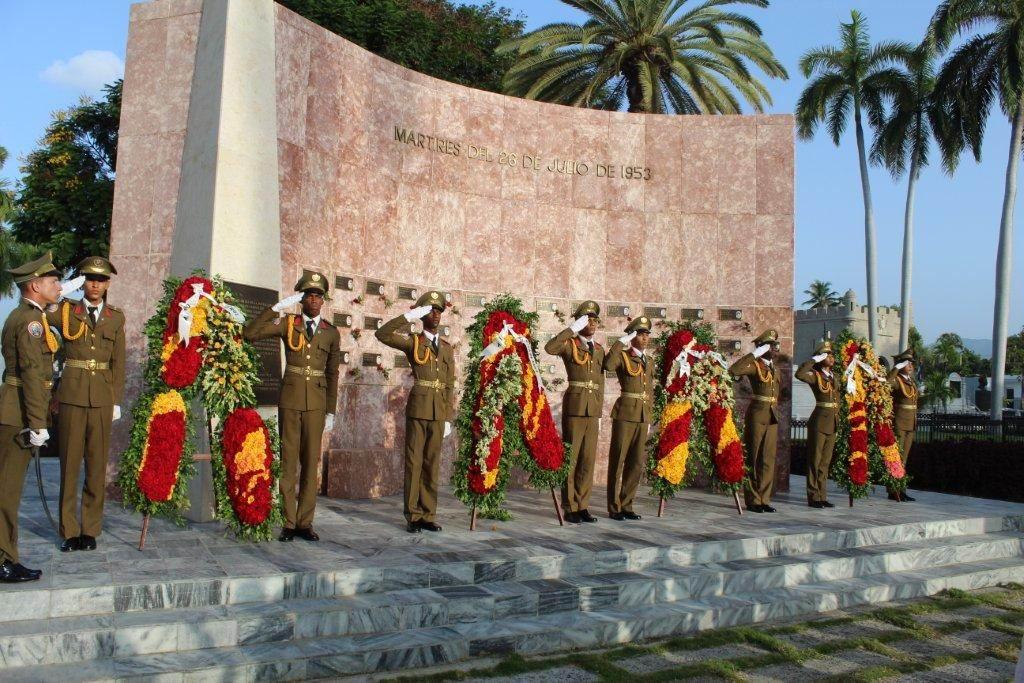 En Audio: Honores para los Mártires de la Revolución desde Santiago de Cuba