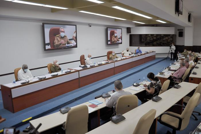 Raul Castro presided over Cuba Politburo meeting