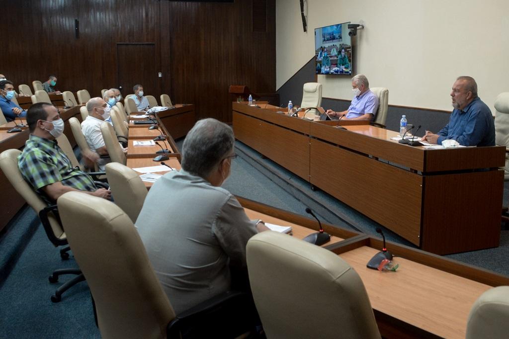 Cuba avanza sin perder un minuto y sin descuidar las medidas sanitarias