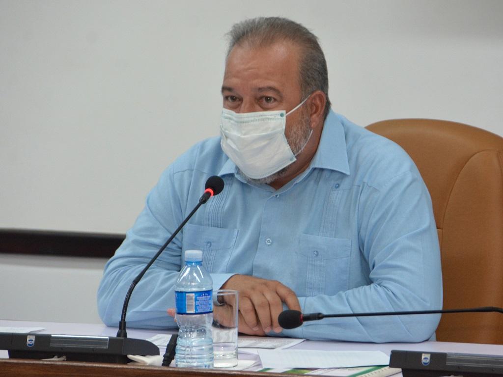 """Díaz-Canel: """"No dar espacio a desanimarnos, esta batalla también la vamos a ganar"""""""