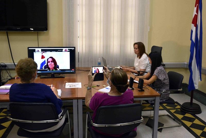 Cuba en conversatorio parlamentario virtual sobre enfrentamiento a la pandemia