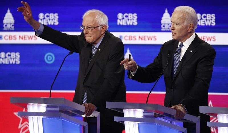 """Impulsa el """"supermartes"""" campaña del aspirante presidencial de la élite del Partido Demócrata"""