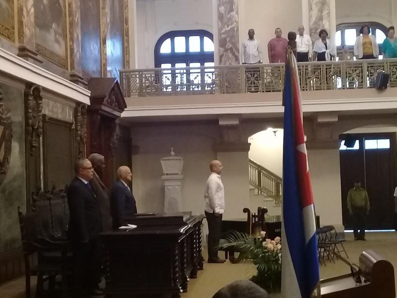 En Audio: Toman posesión de sus cargos Gobernador y Vicegobernador de La Habana