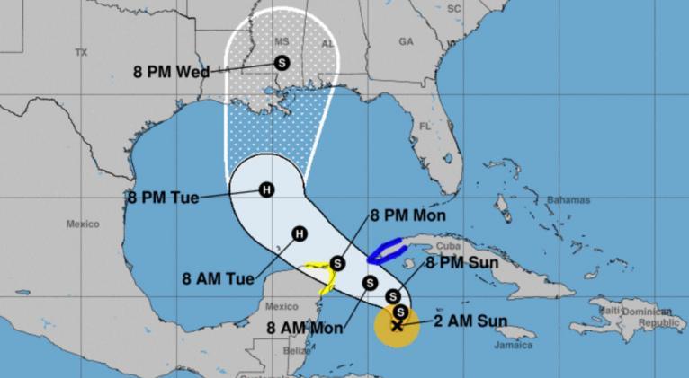 Se forma la tormenta tropical Zeta