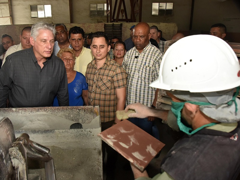 Cuban President Miguel Díaz-Canel leads governmental visit to Las Tunas province