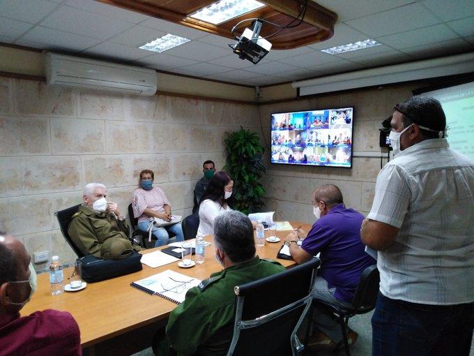 Evalúa Ramiro Valdés cumplimiento de la política de la vivienda en Pinar del Río (+Audio)