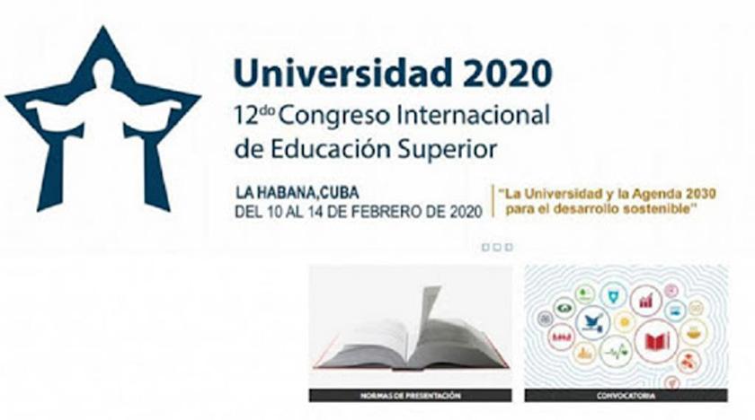Educational congress University 2020 opens in Havana