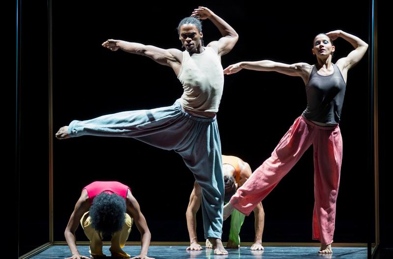 Acosta Danza performs at the Royal Opera House in London