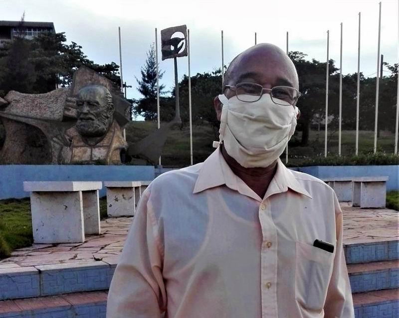 Doctor en Ciencias Ángel Oscar Columbié Navarro, Rector de esta universidad