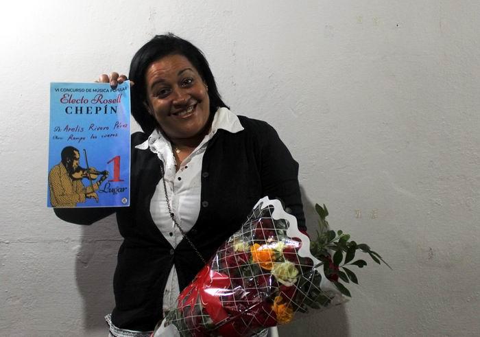Rompe los cueros, una rumba-son de la autoría de Arelís Rivero Pérez de Santiago de Cuba