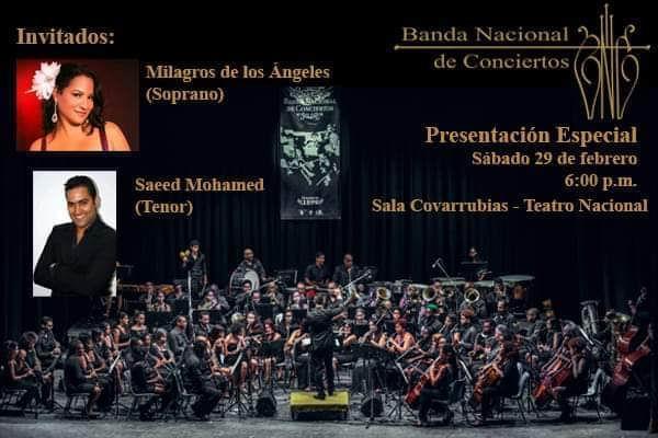 Ofrecerá Banda Nacional de Conciertos presentación única en la sala Covarrubias