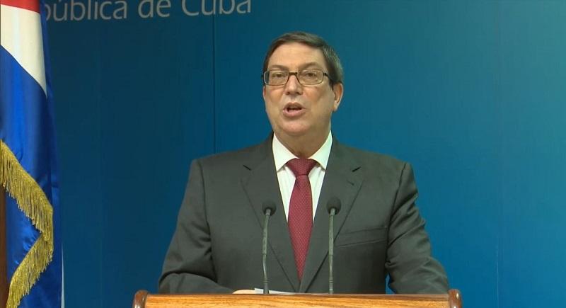 Canciller cubano: agresión contra embajada de Cuba no puede desligarse del recrudecimiento del bloqueo