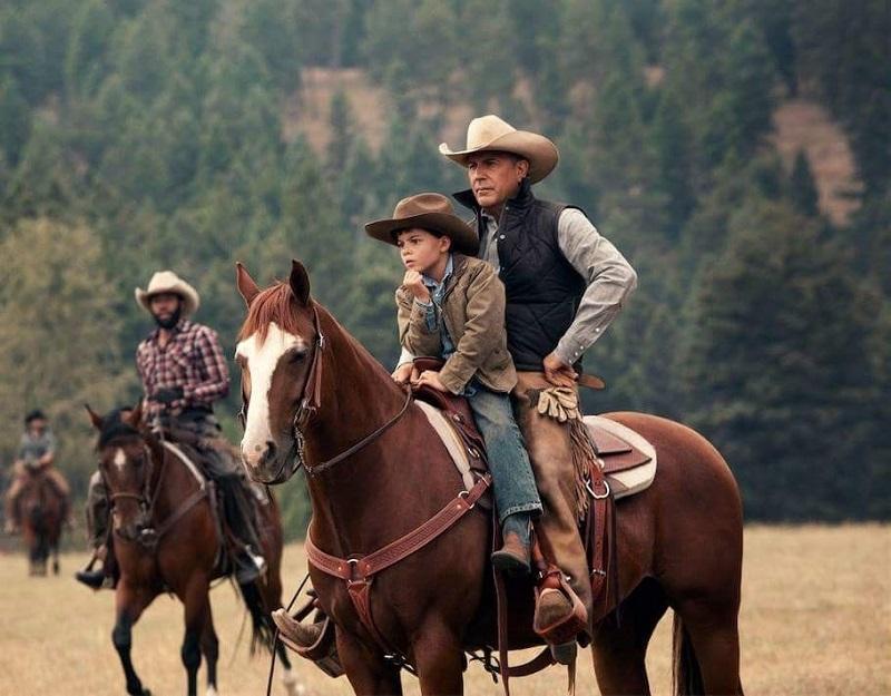Montar a caballo puede ser cosa del cine