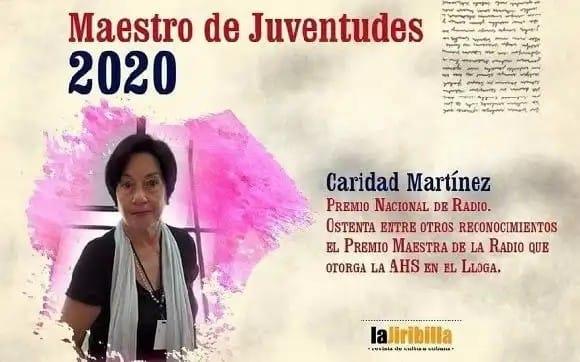 Caridad Martínez: Maestra de Juventudes