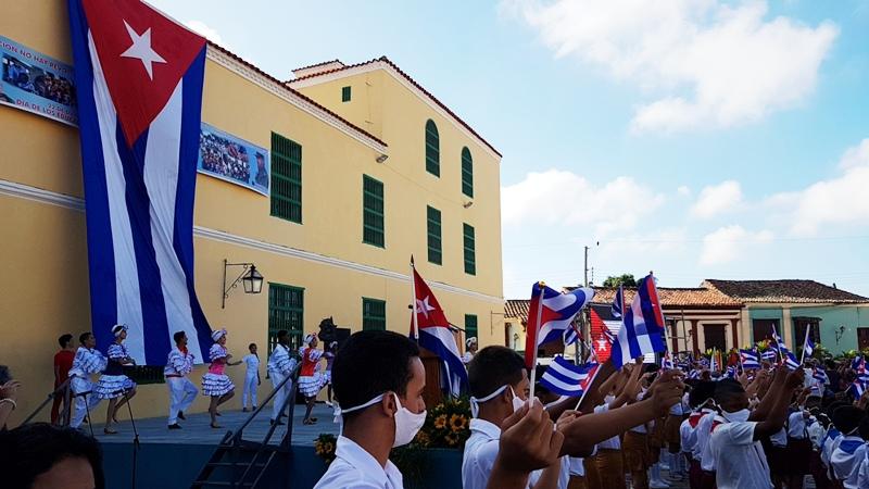 Celebrado en Camagüey acto nacional por el Día del Educador (+Audio)