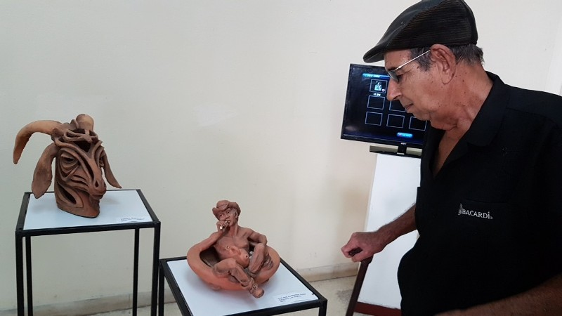 """Falleció """"Bebé"""", ceramista camagüeyano de reconocida trayectoria"""