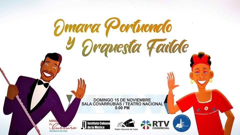 Se presentarán Omara Portuondo y la Orquesta Failde en concierto con público