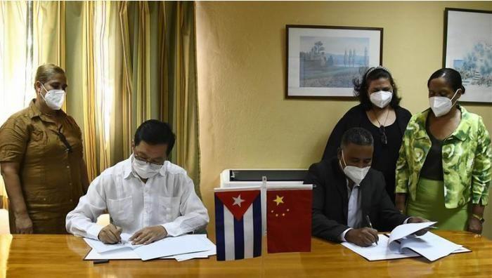 Firman Cuba y China acuerdo para enseñanza de idioma chino en la isla