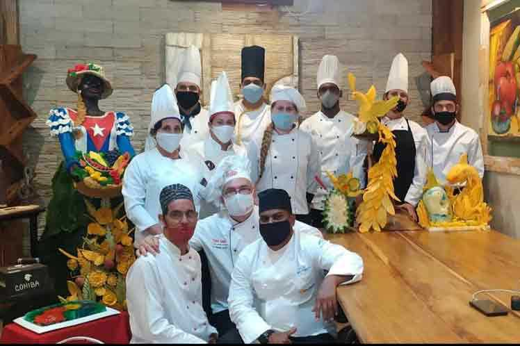 Cuban chefs delight in international culinary sculpture contest