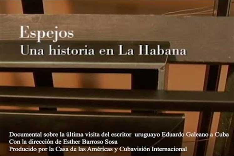 Documentary on Eduardo Galeano's last visit to Cuba released (+Video)
