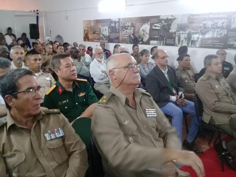 """Proyecto """"Nuestra Historia y el internacionalismo"""" en Feria del Libro"""