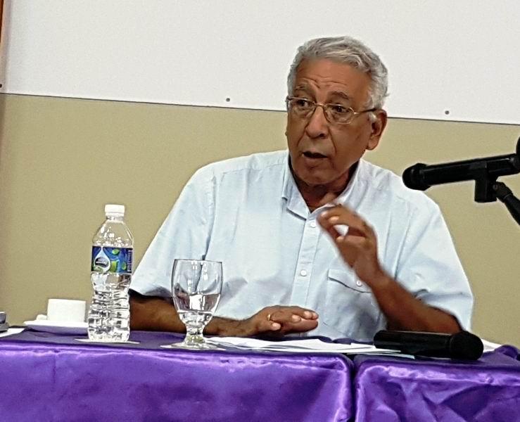 Presidente Sociedad Cultural José Martí, Doctor Eduardo Torres Cuevas
