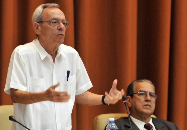Eusebio Leal en el marco del Congreso Internacional Universidad 2018. Foto: ACN