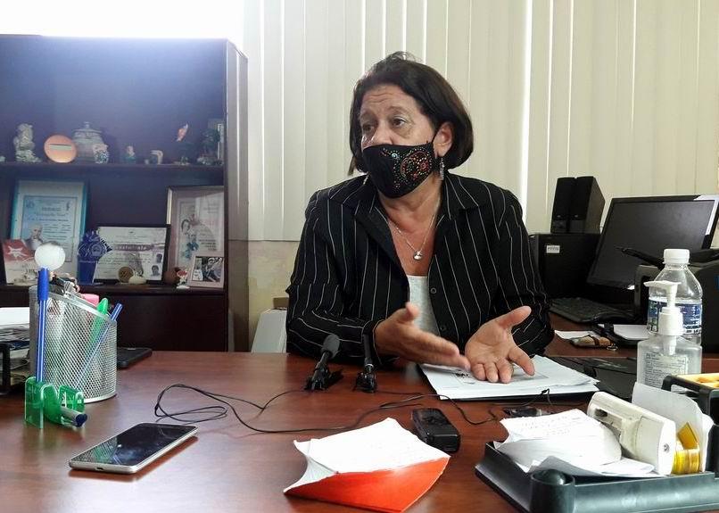 Presidenta del  Comité Científico del evento, la Dra. Eva Escalona Serrano