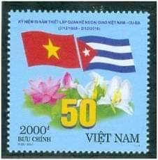 Vietnam y Cuba, vasos comunicantes a través de la Filatelia