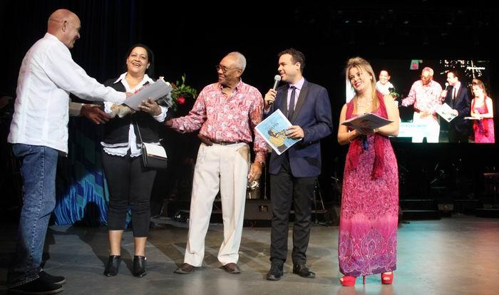 En el Complejo Cultural del Teatro Heredia fueron entregados los premios del Concurso Nacional de Música Popular Electo Rosell
