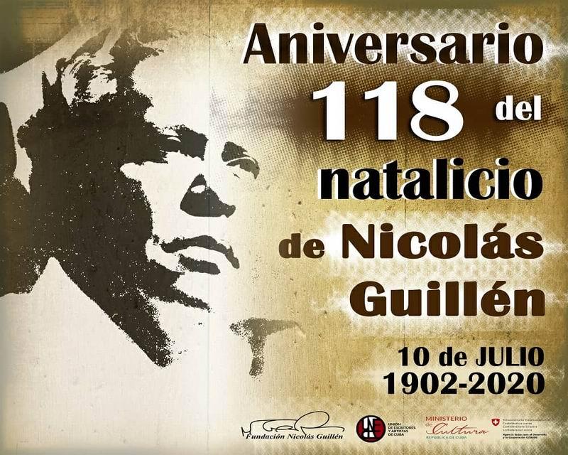 Estrenarán audiovisual homenaje al poeta Nicolás Guillén