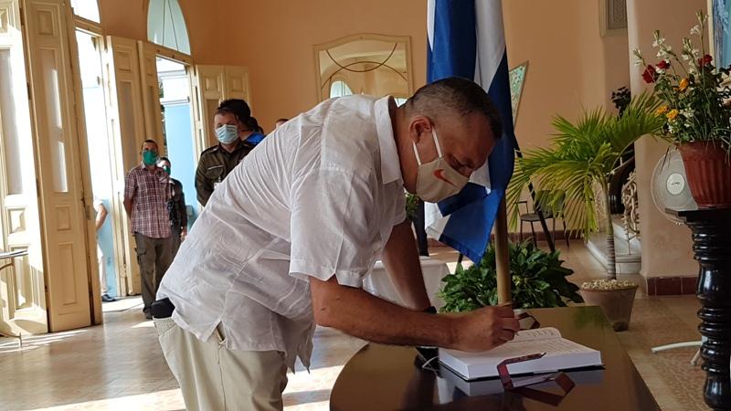 Director de la OHCC de Camagüey, José Rodríguez Barreras