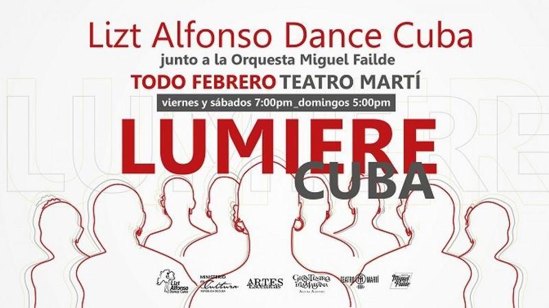 Estrenará Lizt Alfonso Dance Cuba espectáculo en el Teatro Martí