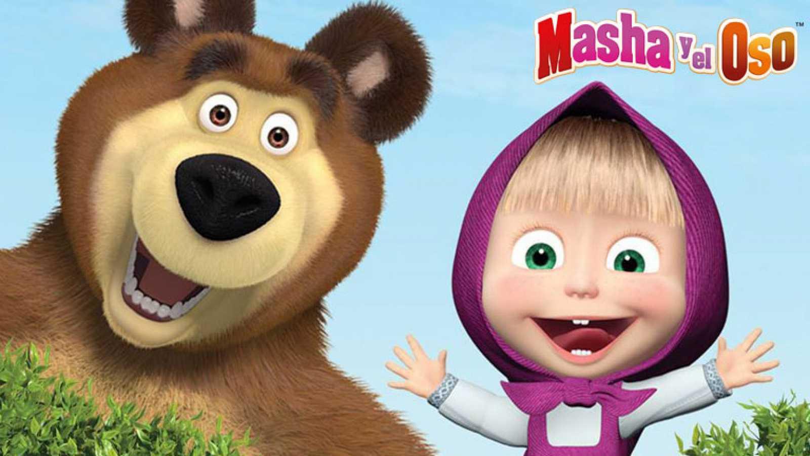 Los divertidos Masha y el oso