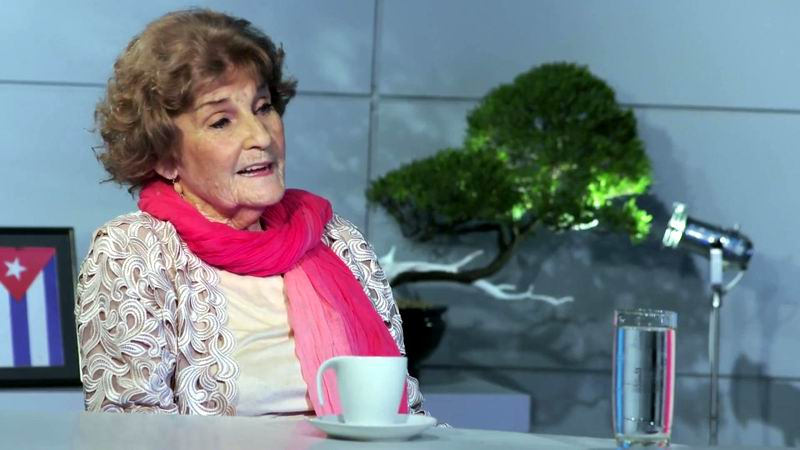 Falleció la actriz Nilda Collado, Premio Nacional de Televisión