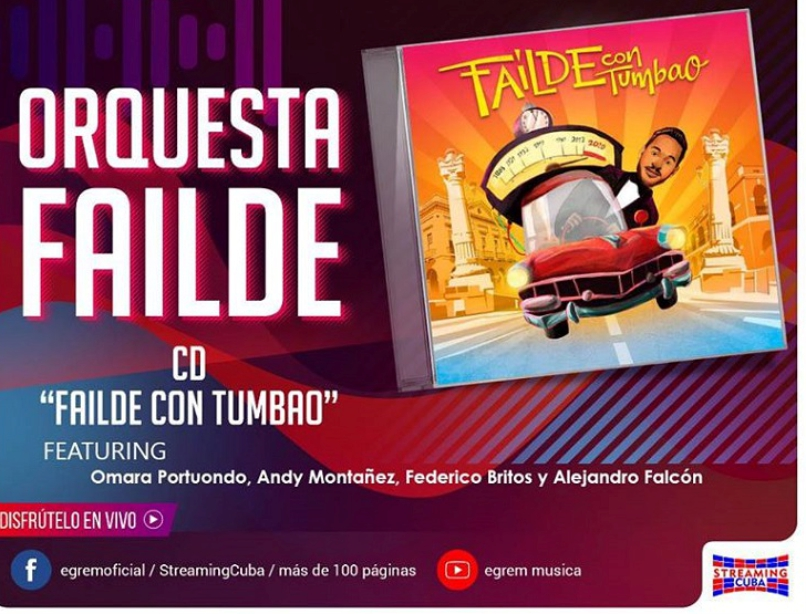🎧 Promociona Orquesta Failde su tercera producción discográfica