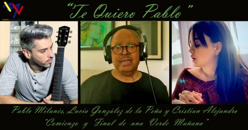 """""""Te Quiero, Pablo"""" proyecto que une a Pablo Milanés con otros artistas por un mundo sin COVID-19"""