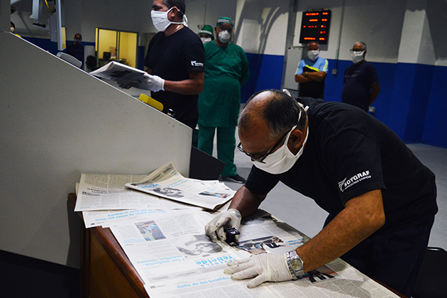 Cumple Poligráfico de Villa Clara compromiso con el Presidente cubano