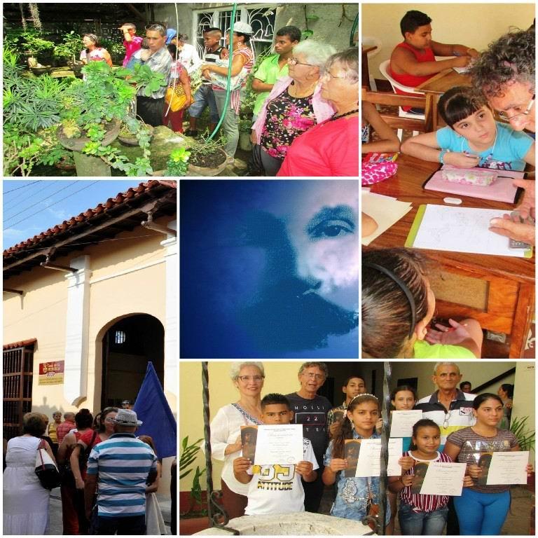 Proyectos Sociedad Cultural en Camagüey. Fotos cortesía SCJM