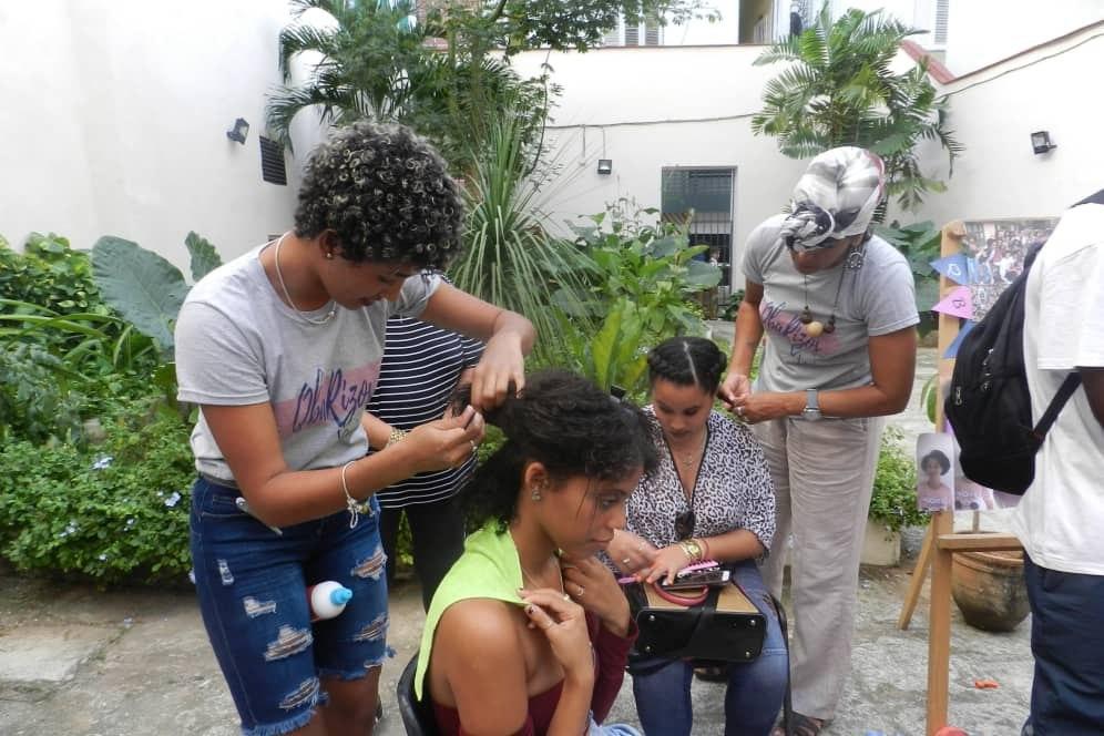 QbaRizos, una manera de celebrar el Día de la Mujer Afrodescendiente