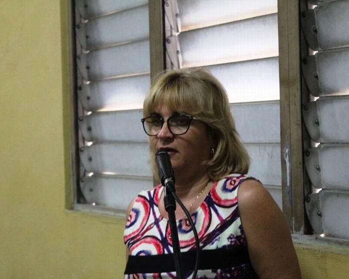 Doctora Magda Resik, Vicepresidenta de la UNEAC