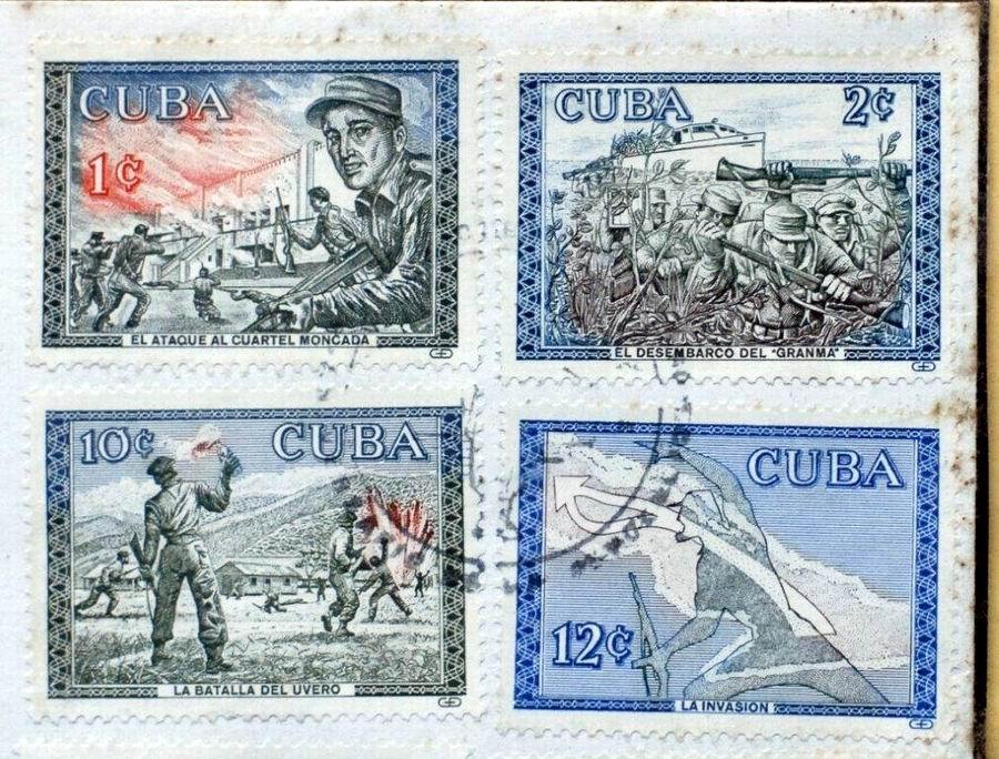 Por vez primera el Moncada en la filatelia cubana