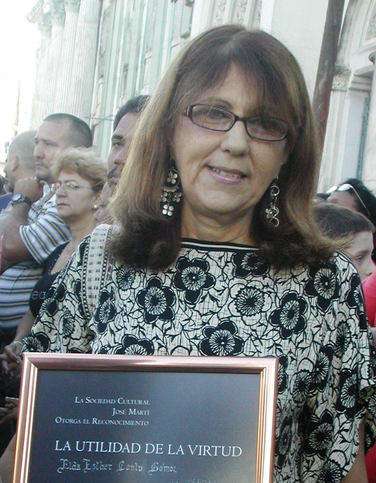 Historiadora Elda Cento Gómez.