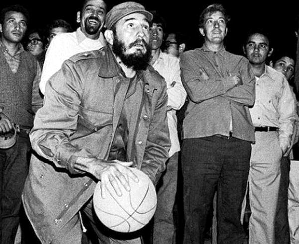 Fidel Castro en el deporte