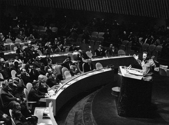 Fidel en la ONU: un discurso que es historia