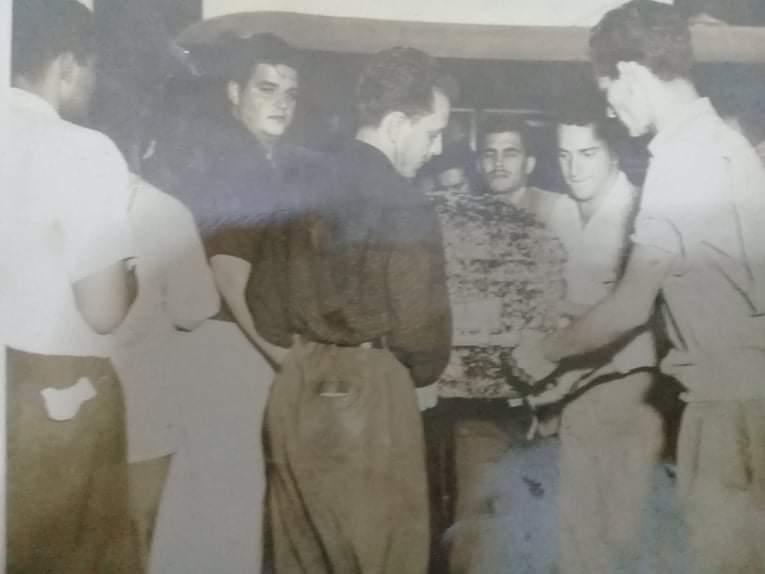 Agostini: el regreso del héroe (Foto de su funeral)