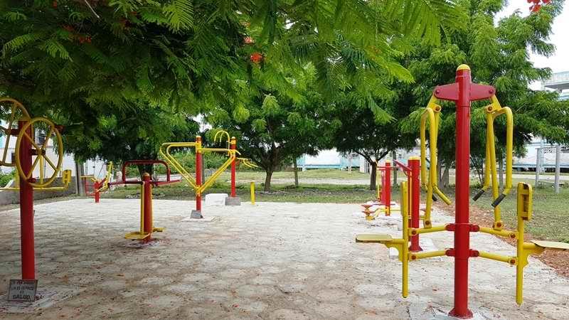Camagüey recupera gimnasios bio-saludables