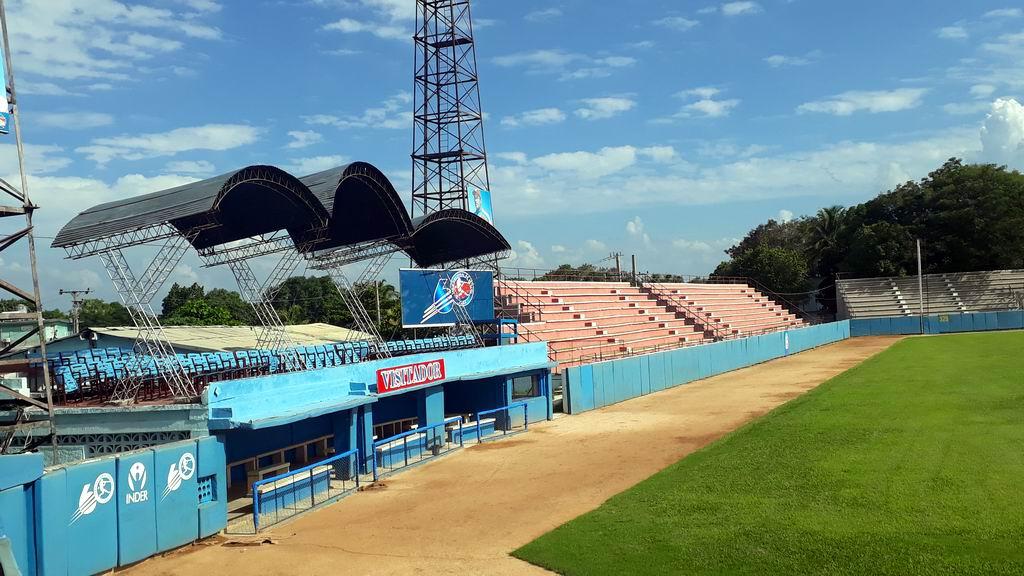 El estadio Mártires de Barbados, sede principal de los Alazanes se le realizan mejoras constantes
