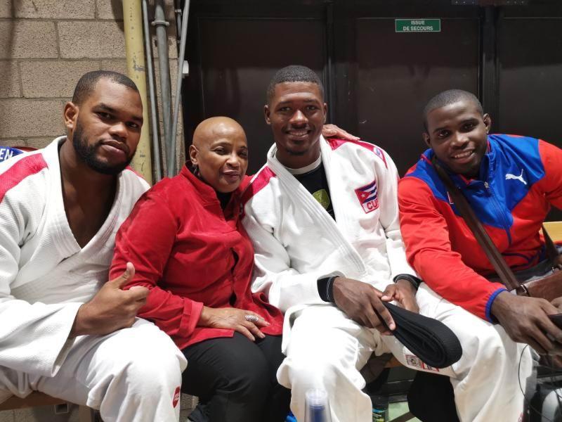 Cubanos celebran premios dorados en Abierto de Judo en Bélgica