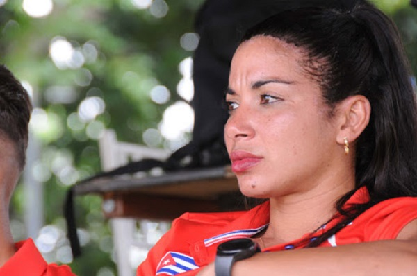 """Leydi Laura: La mujer de """"hierro"""" del deporte cubano (+Audio)"""